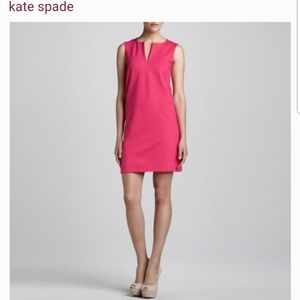 Kate Spade pink Keri sleevelesssheath dress size 8